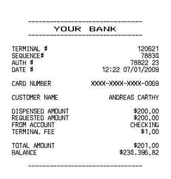 Blogger finds ATM receipt from account with $100 Million Dollar ...