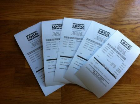 Free Fake Receipt Templates